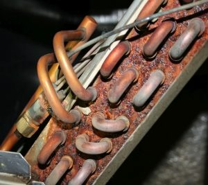 Deteriorated Coil